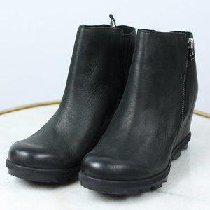 SOREL Joan of Arctic Wedge ll Zip Boots